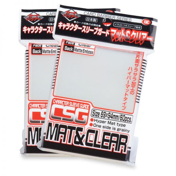KMC Oversleeves Character guard MAT & Clear